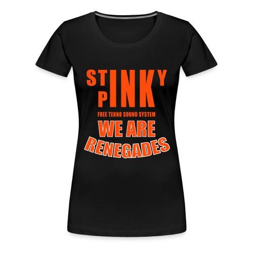 Stinky_Renegades_12_nostr - Women's Premium T-Shirt