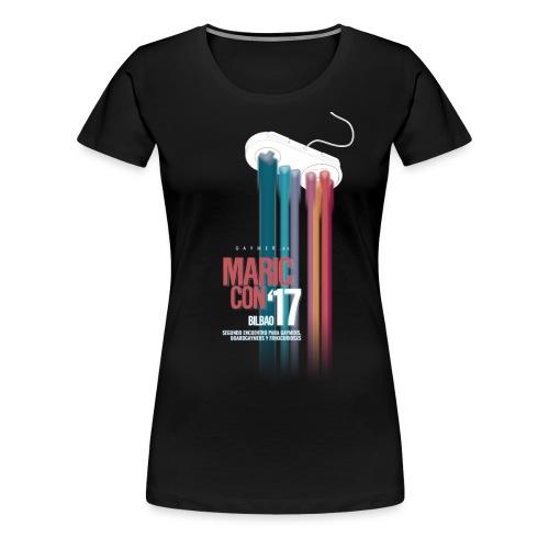 Logo MaricCon 2017 - Camiseta premium mujer