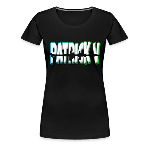 Patrick V Name - Women's Premium T-Shirt