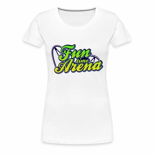 FunTime Schienen Front - Frauen Premium T-Shirt