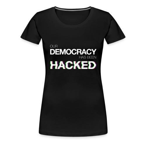 Felpa Economy ODHBH #mr.robot - Women's Premium T-Shirt