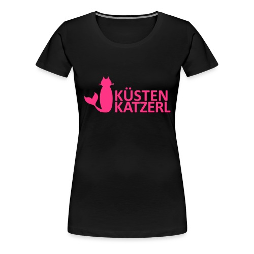 Küstenkatzerl - Frauen Premium T-Shirt