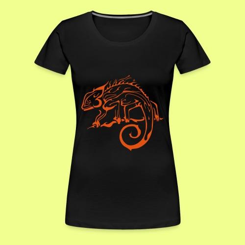 iguana - Camiseta premium mujer