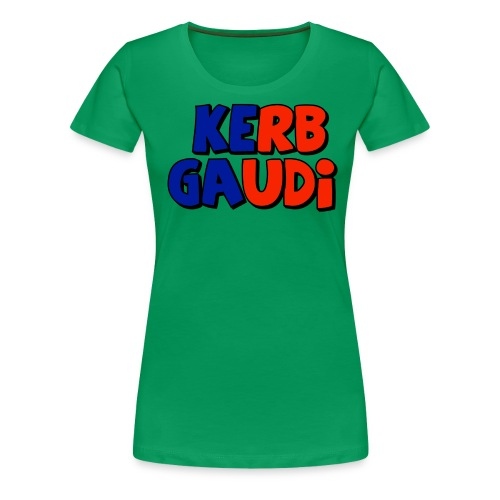 rot-blau-vertikal - Frauen Premium T-Shirt