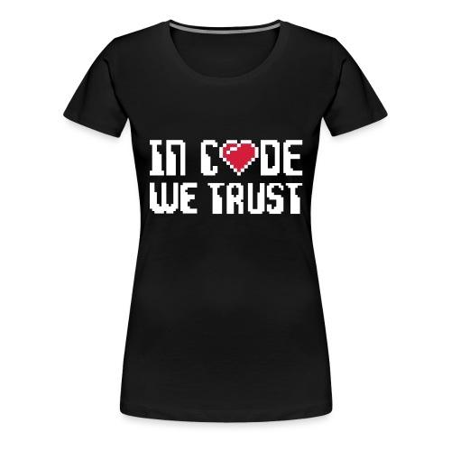 Geek - T-shirt Premium Femme