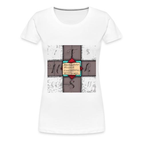 fliesentisch jpg - Frauen Premium T-Shirt