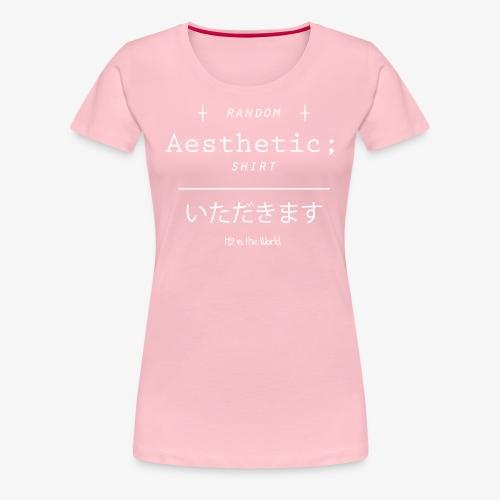 Random Aesthetic - Maglietta Premium da donna