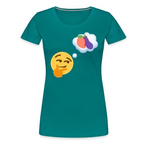 Johtaja98 Emoji - Naisten premium t-paita