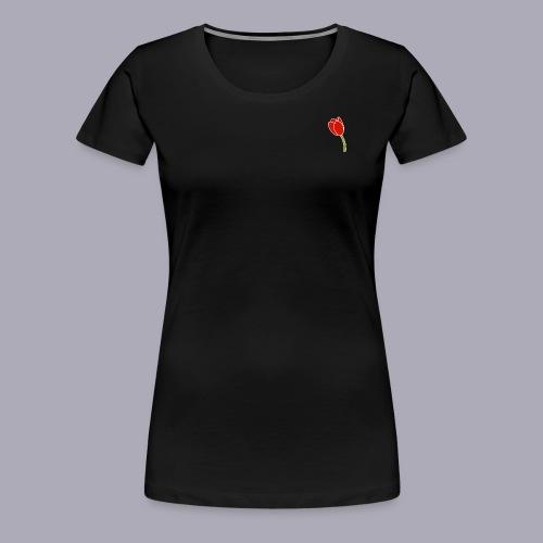 Tulip Logo Design - Women's Premium T-Shirt
