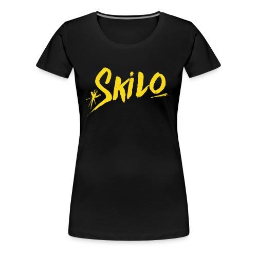 Yellow Logo - Women's Premium T-Shirt