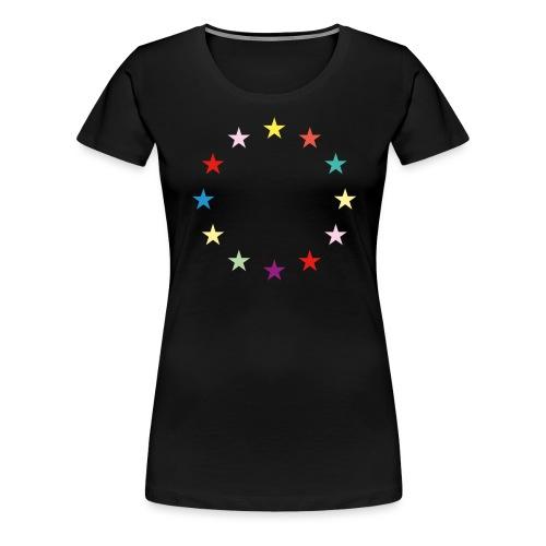 Sterne EU Jusos 2019 - Frauen Premium T-Shirt