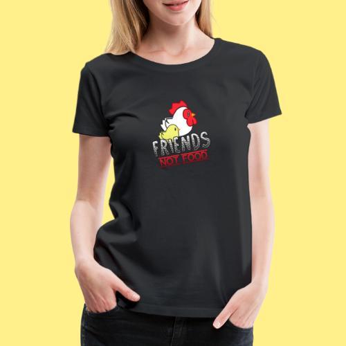 Friends Not Food - Women's Premium T-Shirt