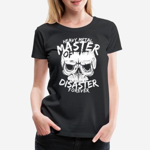 Heavy Metal Rock für immer - Frauen Premium T-Shirt