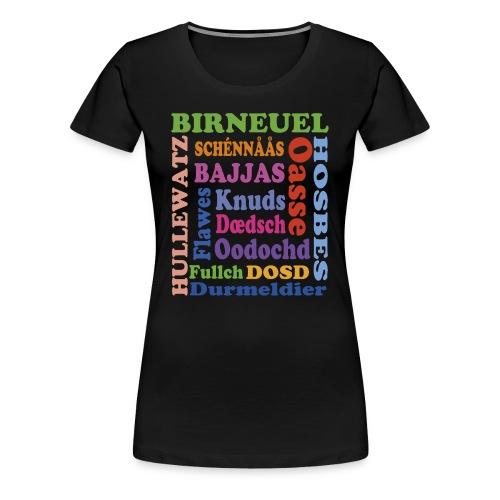 schimpf - Frauen Premium T-Shirt