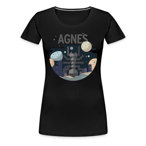 agnes 2 - Frauen Premium T-Shirt
