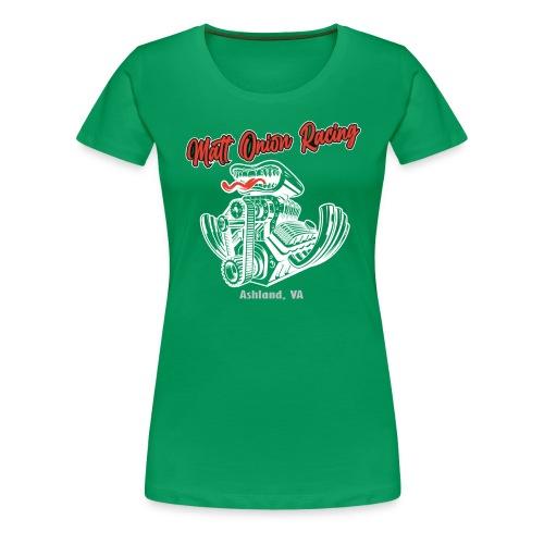 Matt Onion Racing - V8 engine US Muscle Car Hotrod - Frauen Premium T-Shirt