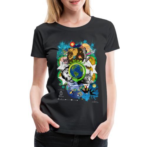Terre Mère Nature -by- T-shirt chic et choc - T-shirt Premium Femme