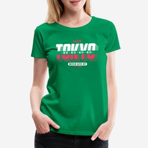 tokyo japan vintage - Frauen Premium T-Shirt