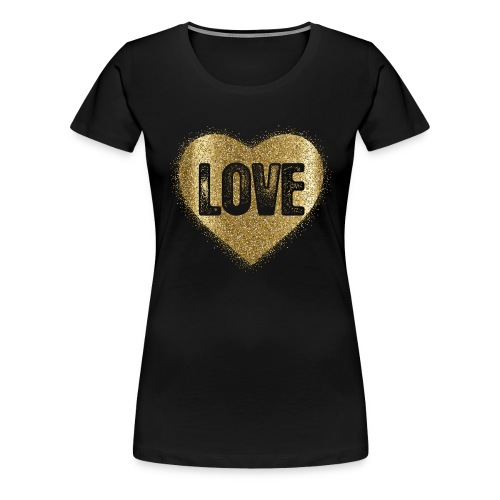Heart-5 - Frauen Premium T-Shirt