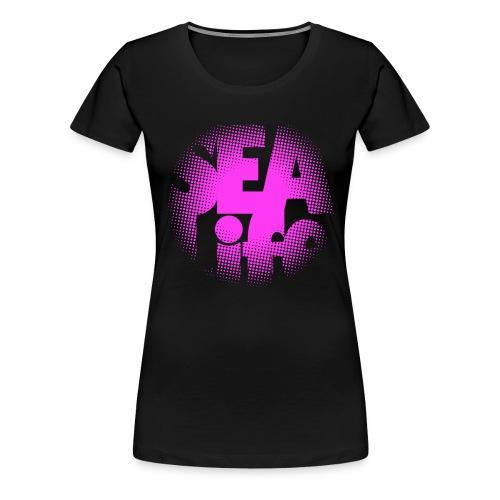 Sealife Surfing Tees, Textiles, Gifts, Products - Naisten premium t-paita