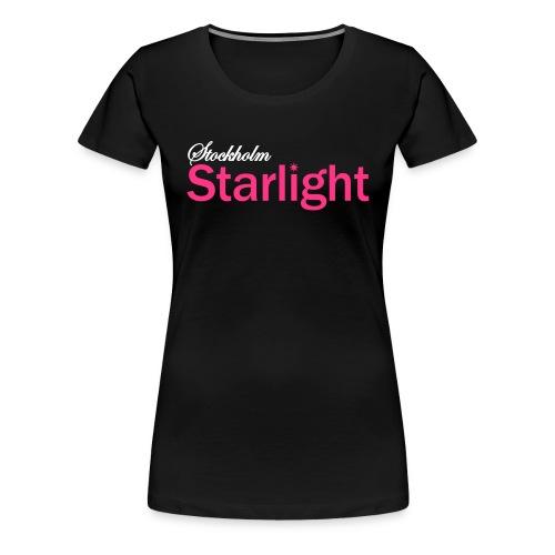 stockholm starlight frg - Premium-T-shirt dam