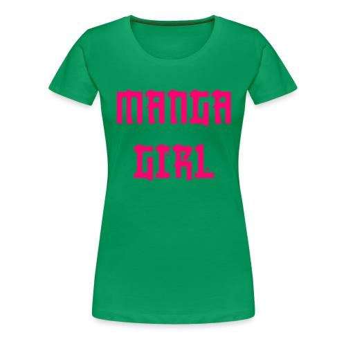 Manga Girl - Frauen Premium T-Shirt