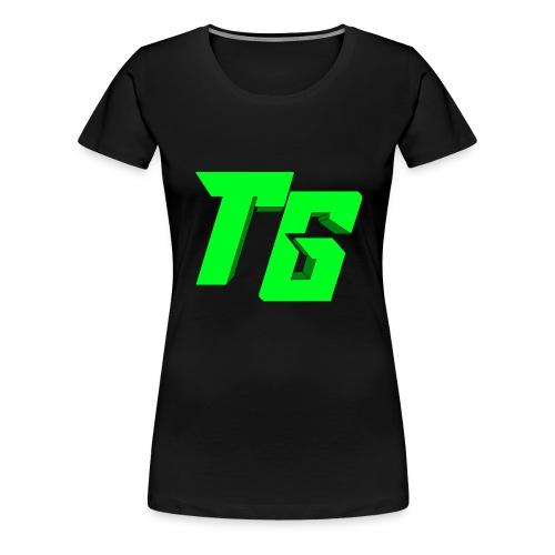Tristan Jeux marchandises logo [LOGO BIG] - T-shirt Premium Femme