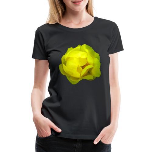 Trollblume gelb Sommer - Frauen Premium T-Shirt
