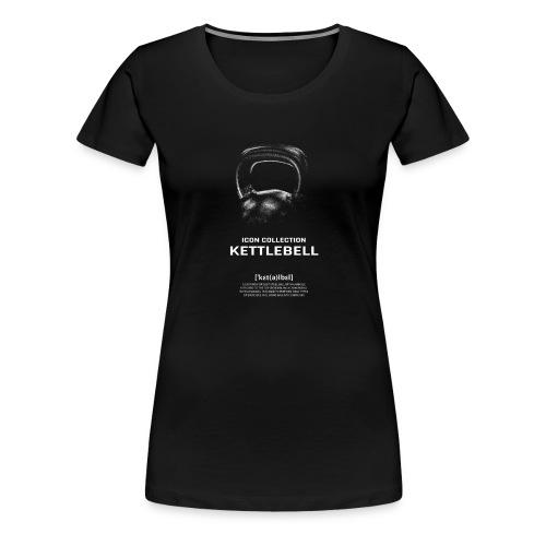 Icon Collection - BARBELL - CrossFitBullsandBears - Frauen Premium T-Shirt