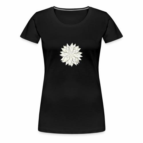 White Flower - Frauen Premium T-Shirt
