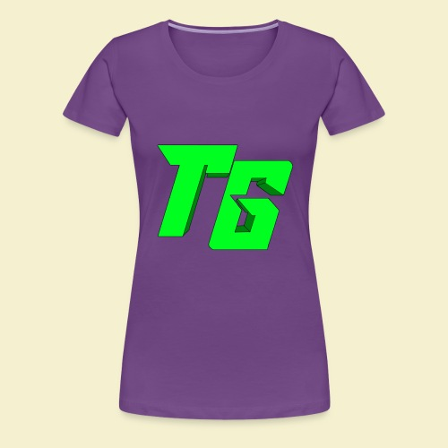 TristanGames logo merchandise [GROOT LOGO] - Vrouwen Premium T-shirt