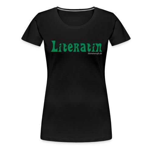Literatin - Frauen Premium T-Shirt