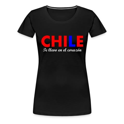 3 CHILENO DE CORAZÓN - Camiseta premium mujer