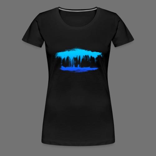 Wasserträume - Frauen Premium T-Shirt