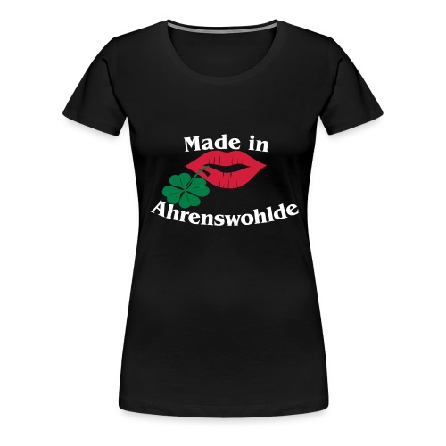 Made in Ahrenswohlde - Frauen Premium T-Shirt
