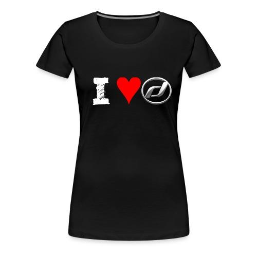 I Love Daelim TShirt (Daelim Logo, Männer) - Frauen Premium T-Shirt