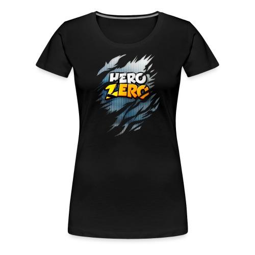 Hero Zero Blue Dark - Women's Premium T-Shirt