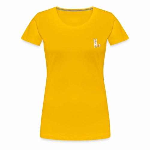 Akita Yuki Logo - Women's Premium T-Shirt