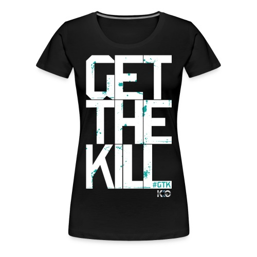 #GTK - White - Women's Premium T-Shirt