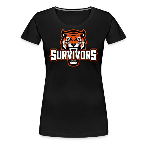 Survivors - Premium-T-shirt dam