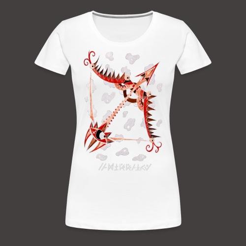 Sagittaire Négutif - T-shirt Premium Femme