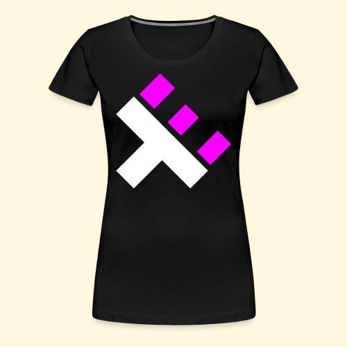 xEnO Logo - xEnO Eclipse - Women's Premium T-Shirt