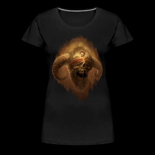 Horned Scream - Women's Premium T-Shirt