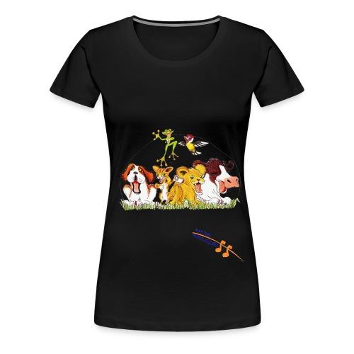 Logo Mazzi orange new png - Frauen Premium T-Shirt