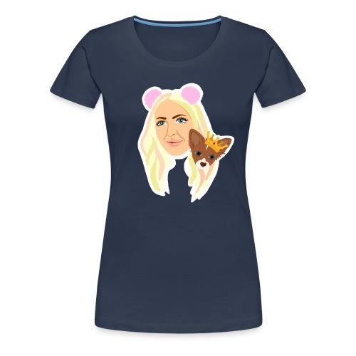 Yumi Troja - Premium-T-shirt dam