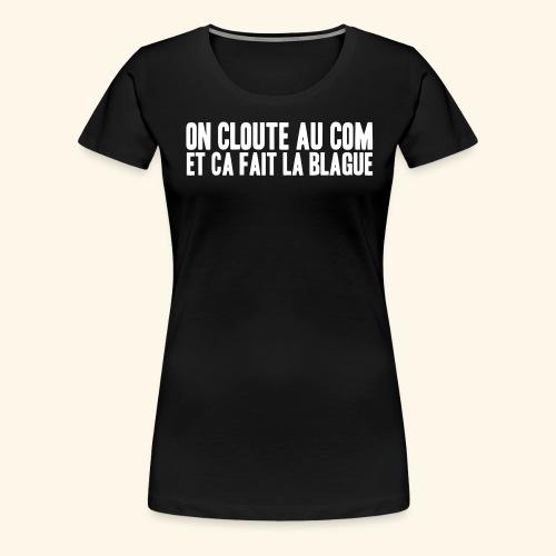 com - T-shirt Premium Femme