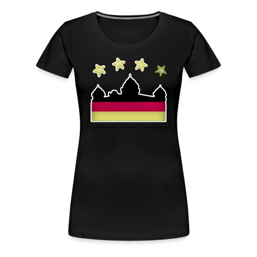 Fanshirt__schwarz - Frauen Premium T-Shirt