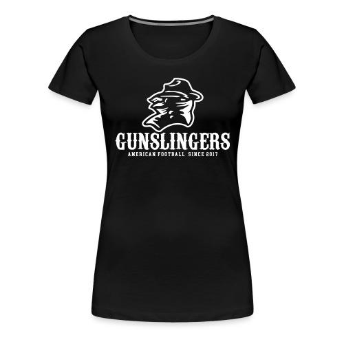 Logo einfarbig - Frauen Premium T-Shirt