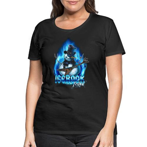 Snowman Evil - Frauen Premium T-Shirt