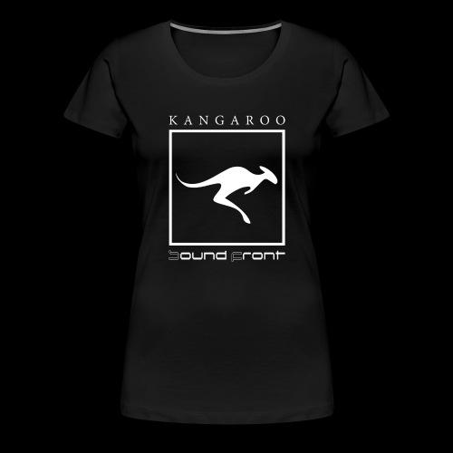 Kangaroo Soundfront - Frauen Premium T-Shirt